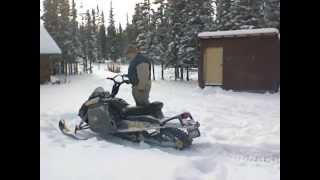 3. 2007 Ski doo Freestyle startup