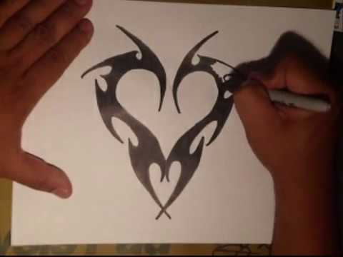 How To Draw Graffiti Hearts How to draw a .