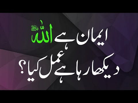 Short Quotes ┇ Imaan Hai Allah Dekh Raha Hai Magar Amal Kya? ┇ Mufti Qasim Attari