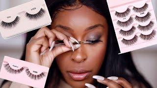 Viral Eyelash Hack TESTED! DOES IT WORK THO?!!   Jackie Aina by Jackie Aina