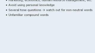 9. GMAT Reading Comprehension - Tips For Each Passage Type