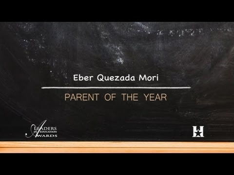 HSF 2012 LEA Parent of the Year...