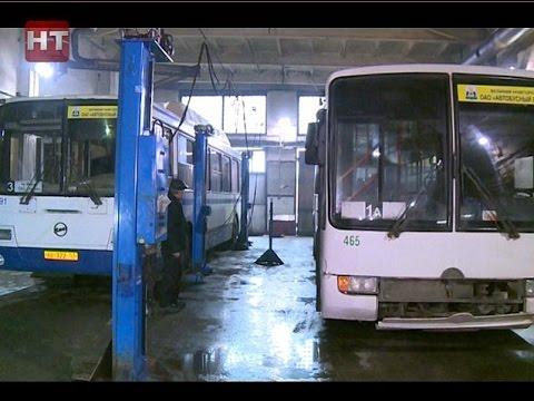 Губернатор Сергей Митин провел выездное совещание на территории Автобусного парка