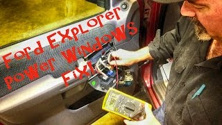 Ford Explorer No Power Windows