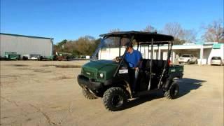 9. Sold! 2011 Kawasaki Mule 4010 ATV UTV 4x4 Crew Utility Cart 617cc bidadoo.com