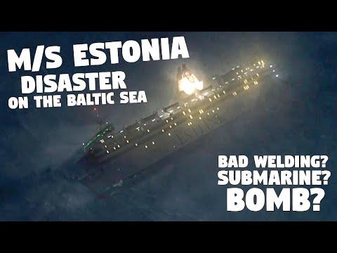 Investigating the sinking of MS Estonia (2020)