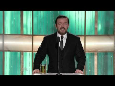 Gervais At Golden Globes