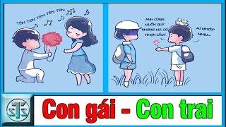 So sánh sự khác biệt giữa CON TRAI và CON GÁI khi tỏ tình, sự khác nhau, su khac nhau giua, haivl