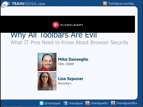 Browser Security - http://www.trainsignal.com/blog/webinars?utm_source=YouTube&utm_medium=SocialMedia&utm_content=Browser-Security-Webinar&utm_campaign=Webinars In this on-dema...