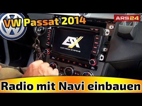 Navi einbauen im VW Passat in VW Passat Bj. 2014 -TUTORIAL- ESX VN-710VW-P1 mit DAB+