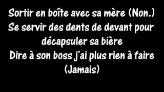 OrelSan - Mauvaise Idée (LYRICS/PAROLES) [HD]