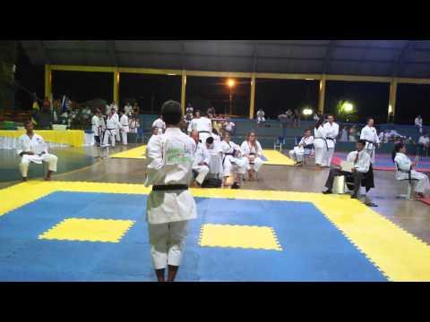 2ª Etapa estadual de karatê/Alvorada do oeste -2015