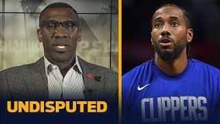 Kawhi is not even close to being the best player in the world — Shannon Sharpe | NBA | UNDISPUTED