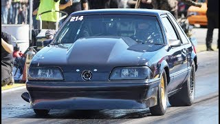 This 4g63 Mustang is a ROCKET! by 1320Video