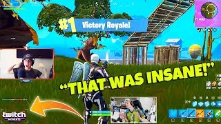Ninja Reacts to our Fortnite Funny Fails and WTF Moments! (Twitch Moments Reaction)