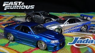 Nonton Fast and Furious Brian's Blue Nissan Skyline GTR - Jada Toys Film Subtitle Indonesia Streaming Movie Download