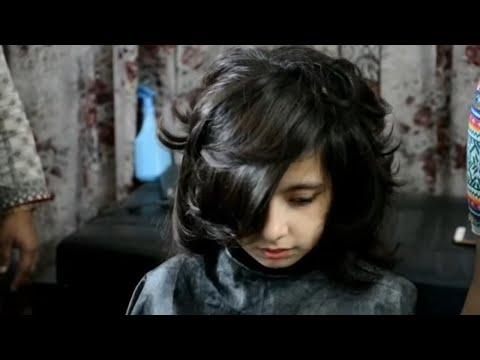 Short haircuts - short shaggy wispy haircuts(nazia bilal)
