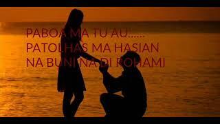 Lanser Sihombing Tu Ise Do Rohami LIrik Lagu Batak Terbaru   YouTube