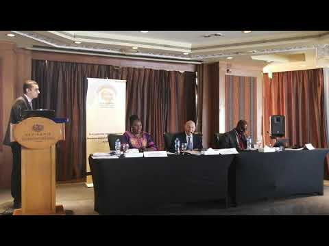 تسليم رئاسة الشبكة الافريقية للمؤسسات الوطنية لحقوق الإنسان للمجلس القومى لحقوق الإنسان 4 نوفمبر 2019