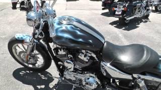 8. 402680 - 2009 Harley Davidson Sportster 1200 Custom XL1200C - Used Motorcycle For Sale