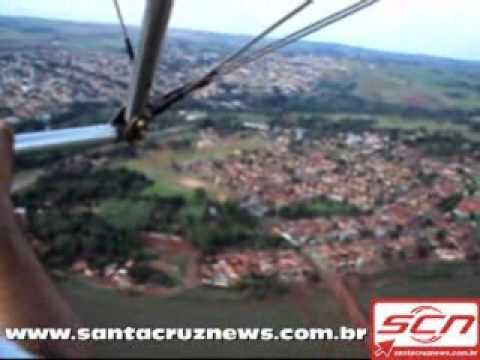 Vôo em Santa Cruz do Rio Pardo com ultraleve