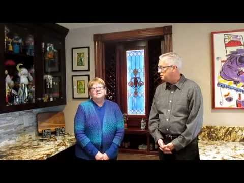 Doug & Dianne - Building their custom wine room