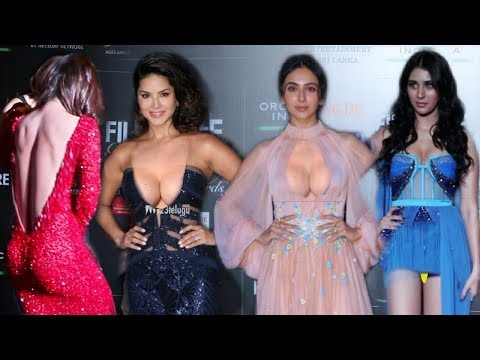 Bollywood Many H0TT Actresses on Red Carpet at Filmfare Glamour Awards 2019 | Rakul, Ankita, Sunny