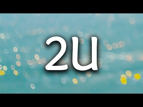 David Guetta, Justin Bieber ‒ 2U (Lyrics / Lyric Video) (R3hab Remix)