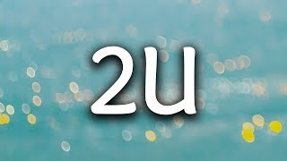 justin bieber 2u music video download