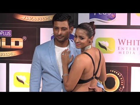 Barkha Bisht goes BACKLESS at Zee Gold Awards 2017