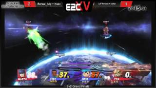 Ally switch to Marth in Doubles Grand Finals coming up clutch at E2C 15