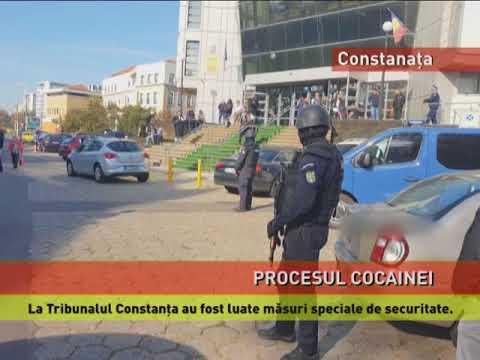 Măsuri speciale la procesul traficanților de cocaină, la Constanța