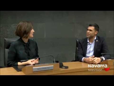 Javier García repasa la actualidad parlamentaria en Navarra Televisión