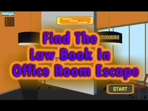 Find The Law Book In Office Room walkthrough-onlinegamezworld ...