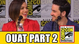 Once Upon A Time Season 7 Comic Con panel news & highlights (part 2) with Lana Parrilla, Colin O'Donoghue and Robert Carlyle, Dania Ramirez, Gabrielle Anwar, Andrew J. West, Adam Horowitz, Eddy Kitsis & David H. Goodman.RELATED VIDEOS--------------Once Upon A Time Season 7 Comic Con Panel Part 1 ► http://youtu.be/SqQi_E60BGYOnce Upon A Time Season 6 Comic Con Panel ► http://youtu.be/MLxWHDREjLEPLAYLISTS YOU MIGHT LIKE------------------------Marvel ► http://bit.ly/MarvelVideosFox Marvel Movies ► http://bit.ly/FoxMarvelVideosDC ► http://bit.ly/DCVideosMovie Deleted Scenes & Rejected Concepts ► http://bit.ly/MovieDeletedScenesEaster Eggs ► http://bit.ly/EasterEggVideosAmazing Movie Facts ► http://bit.ly/ThingsYouDidntKnowVideosPixar ► http://bit.ly/PixarVideosDisney Animation ► http://bit.ly/DisneyAnimationVideosStar Wars ► http://bit.ly/StarWarsVidsSOCIAL MEDIA & WEBSITE----------------------Twitter ► http://twitter.com/FlicksCityFacebook ► http://facebook.com/FlicksAndTheCityGoogle+ ► http://google.com/+FlicksAndTheCityWebsite ► http://FlicksAndTheCity.comThanks to Comic Con International http://www.comic-con.org/The residents of the enchanted forest enter season 7, facing their greatest challenge yet as the Evil Queen, Captain Hook, and Rumpelstiltskin join forces with a grown-up Henry Mills and his daughter Lucy on an epic quest to bring hope to their world and ours. Along the way, new fairy tale characters and old search for true love, find adventure, and take sides in the ongoing struggle of good against evil as classic tales are once again twisted and reimagined. Co-creators and executive producers Edward Kitsis (Lost) and Adam Horowitz (Lost), executive producer David H. Goodman (Without a Trace), and cast members discuss what's in store for returning favorites as well as the new additions to the Once Upon a Time universe. Moderated by Yvette Nicole Brown (The Mayor).