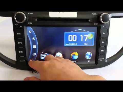 Màn Hình DVD Cho Xe Honda CRV, Đầu DVD Cho Xe Honda CRV