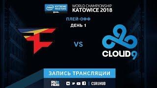 FaZe vs Cloud9 - IEM Katowice 2018 - map2 - de_cache [ceh9, CrystalMay]