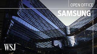 Inside Samsung's Futuristic $300 Million Office