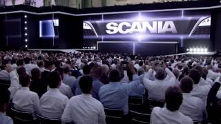 """Jaunās """"Scania"""" modeļu līnijas prezentācija Parīzē"""