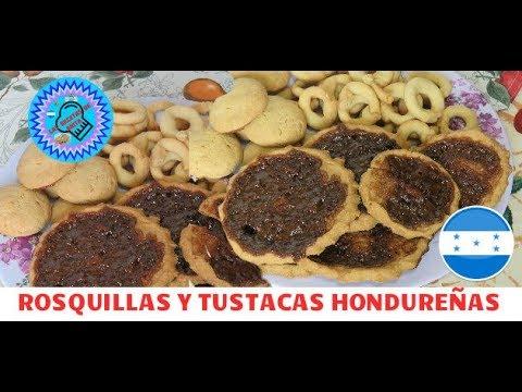 rosquillas y tustacas Hondureñas  , las recetas de anita