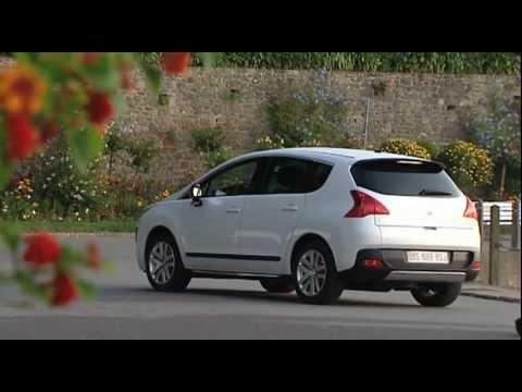 Peugeot 3008 HYbrid4 2012 new video
