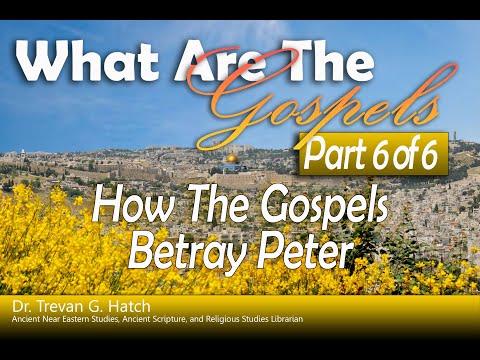 How the Gospels Betray Peter  |  What are the Gospels Part 6  | Stranger in Jerusalem | Trevan Hatch