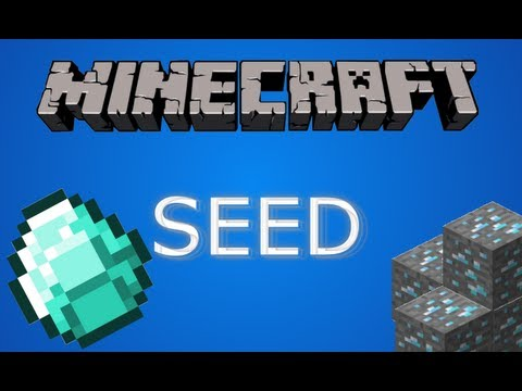 Amazing Minecraft Diamond Seed