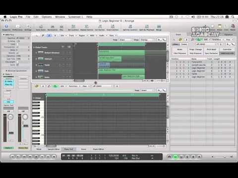 Logic Pro 9 Tutorial – Produce Dance Music With Logic Pro 9 – User Interface