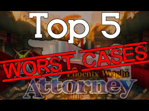 Top 5 Least Favorite Ace Attorney Cases