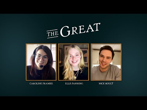 A Special Discussion with Elle Fanning & Nicholas Hoult from The Great