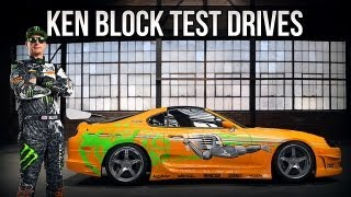 Nonton Forza 4: Ken Block Test Drives ... Fast and the Furious Brians Supra Film Subtitle Indonesia Streaming Movie Download