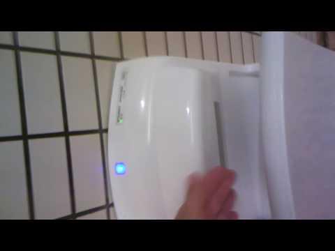 Mitsubishi Händetrockner Jet Towel Slim im Test - http://dyson-ventilatoren-test.de
