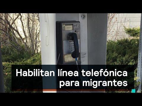 SRE instala línea telefónica para migrantes en EEUU - Noticias con Karla Iberia