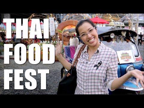 THAI FOOD FESTIVAL in Bangkok! (Amazing Thai Taste Festival) - Hot Thai Kitchen